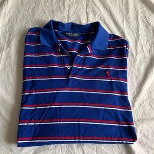 Ralph Lauren Size XL Striped Polo 100% Pima Cotton